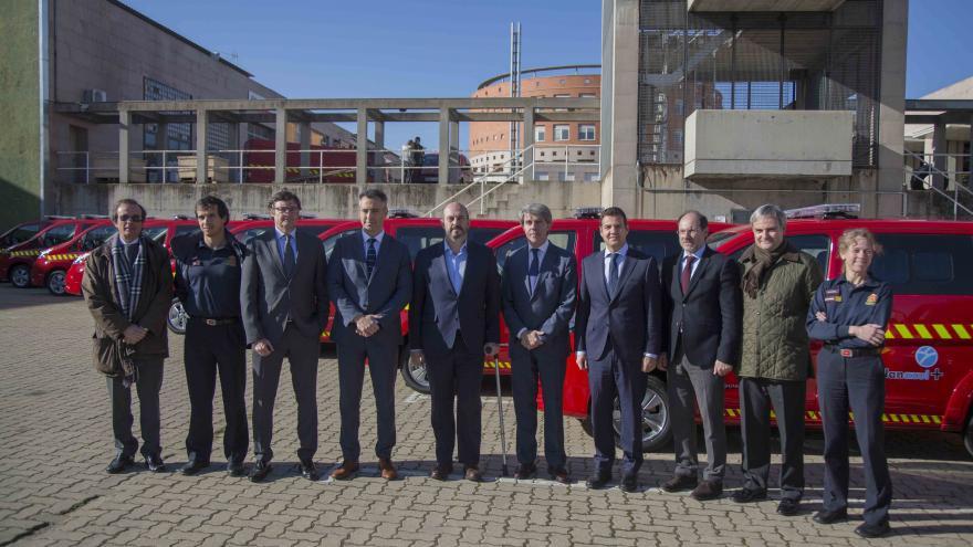 Presentación de las nuevas furgonetas tipo combi, que reducirán el consumo de combustible y las emisiones de CO2