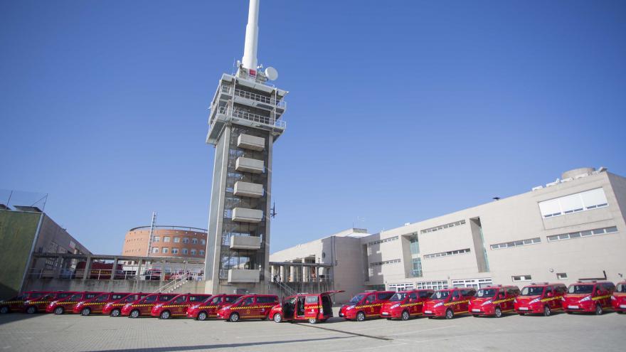 Flota de vehículos eléctricos del cuerpo de Bomberos de la Comunidad de Madrid