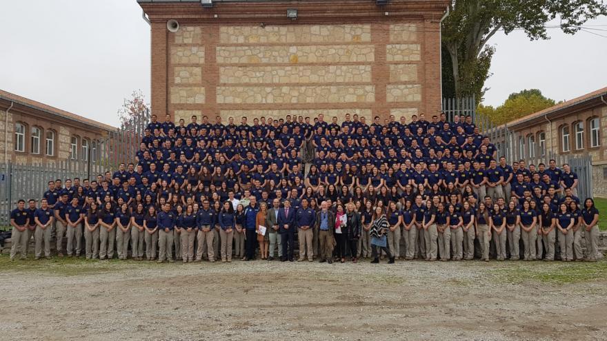 Visita de alumnos de policía de Chile para conocer la formación en el IFISE