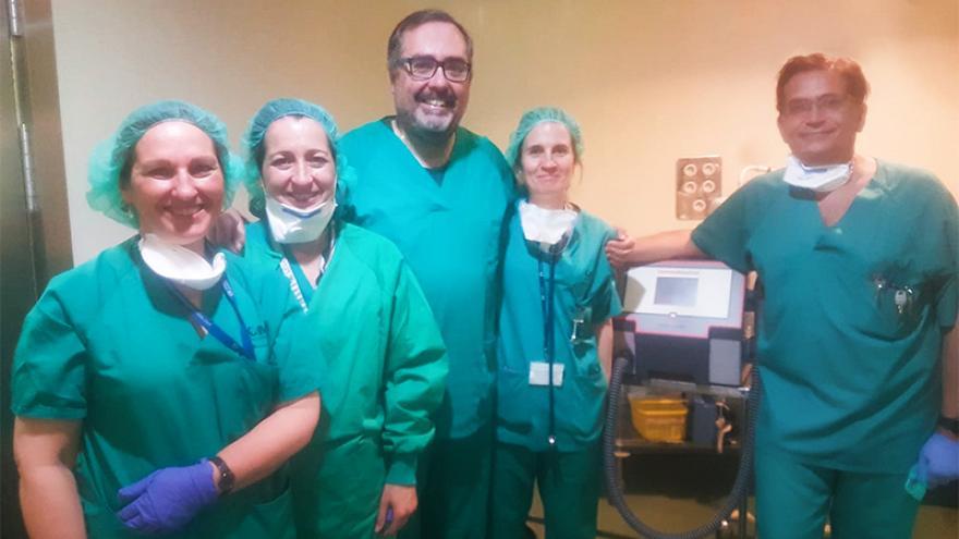 La Comunidad implanta en el Hospital Gregorio Marañón una técnica pionera en España para tratar el enfisema pulmonar severo