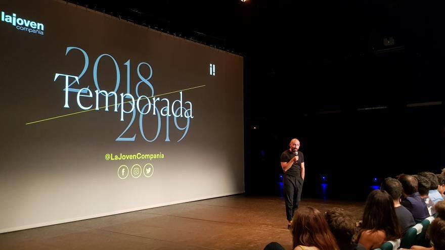 La Comunidad apoya a La Joven Compañía en la presentación de su nueva temporada