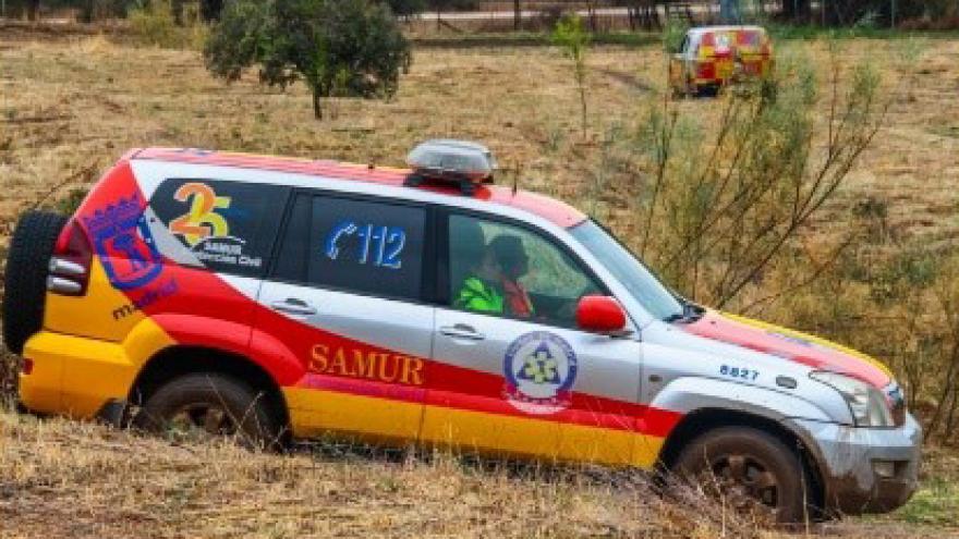 Prácticas de conducción del SAMUR en el IFISE
