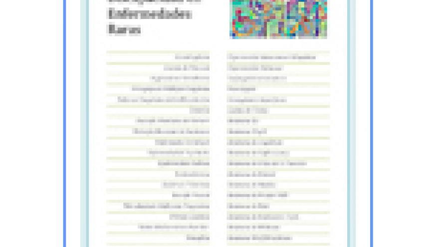 Portada de la V Edición de la Guía de orientaciones para la valoración de la discapacidad en enfermedades raras