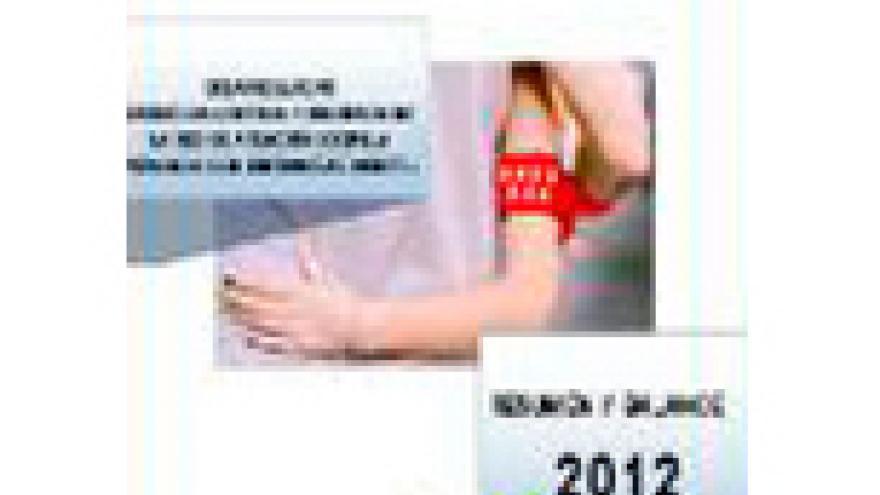 Portada del Balance de 2012