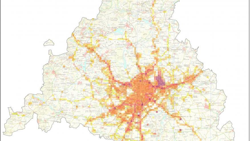Mapa Inventario emisiones NOx (Óxidos de nitrógeno)