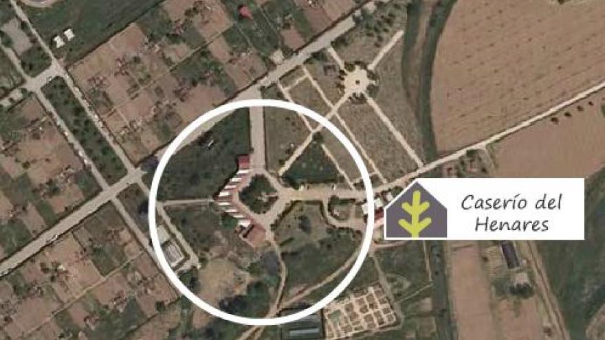 Ubicación del Centro de educación ambiental Caserío de Henares
