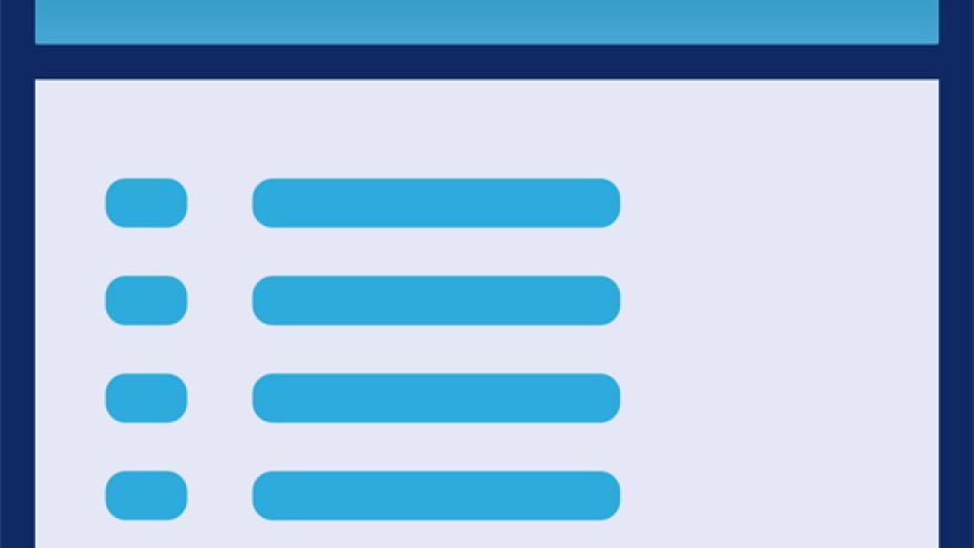 Imagen de un formulario