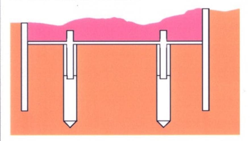 Fases construcción estación a cielo abierto