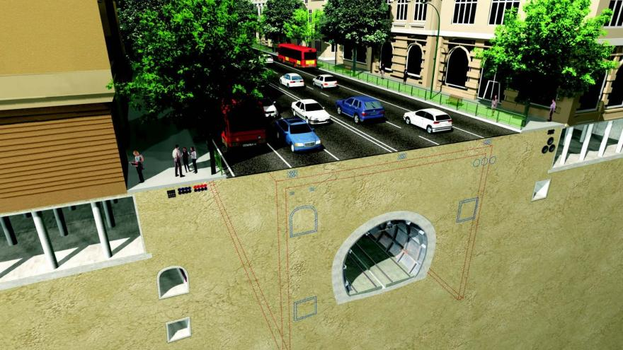 Fase 1 protección metálica del túnel y desvío de servicios