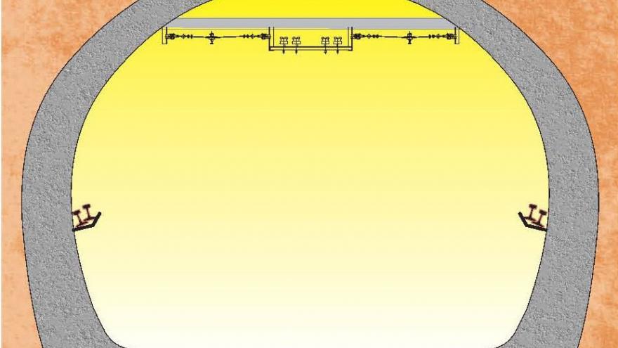 Proceso de renovacion de vía, fase 2, retirada de balasto