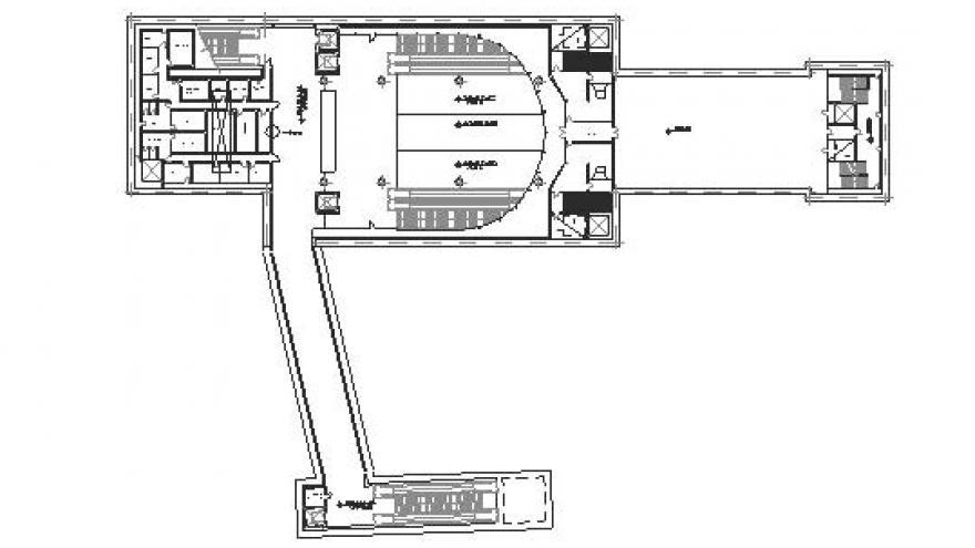 Planta general nivel vestíbulo de la estación Villaverde Bajo-Cruce
