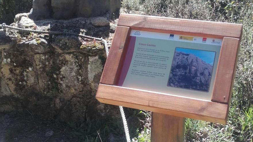 Centro de Visitantes La Pedriza. Cartel informativo