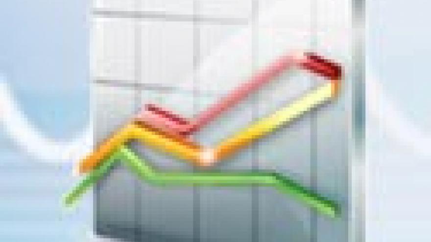 icono de un gráfico lineal