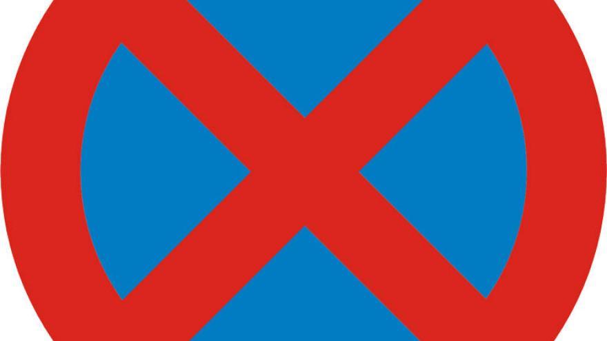 señal de prohibido parar y estacionar