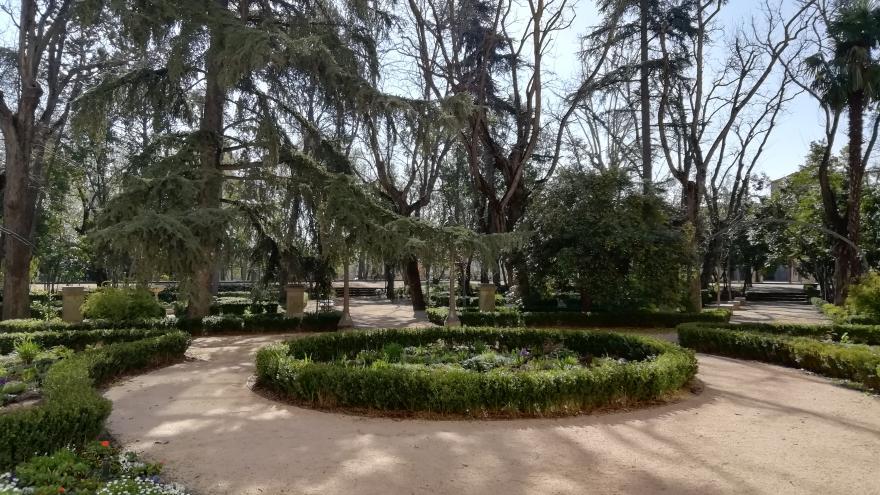 jardín cuatro