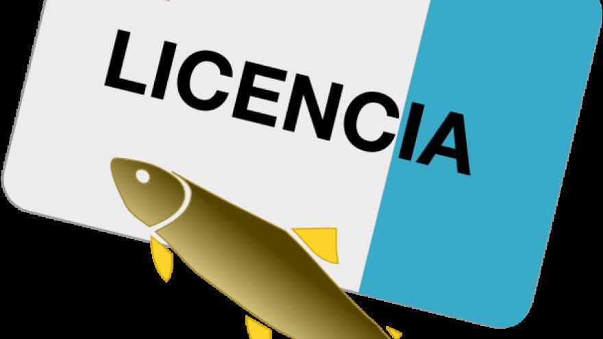 Icono licencia pesca CAF