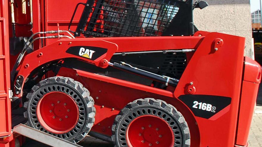Máquina excavadora: 1 unidad