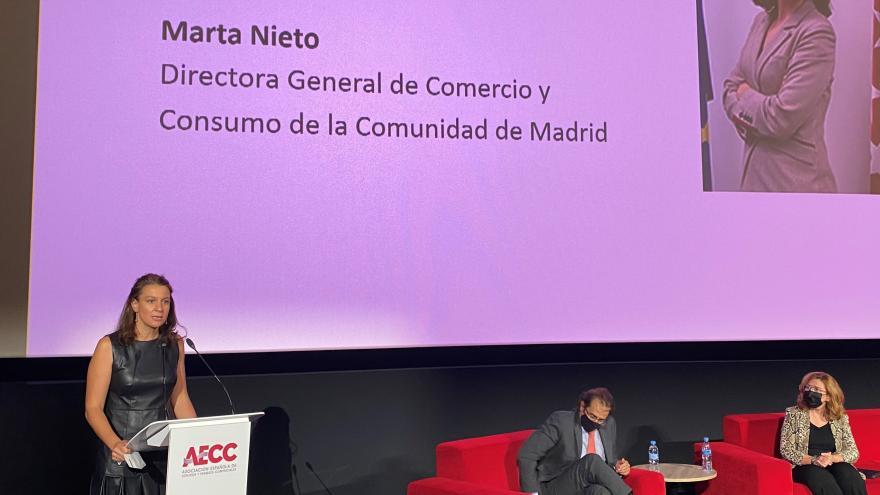 La directora general de Comercio y Consumo ha inaugurado el XVIII Encuentro de Socios de AECC