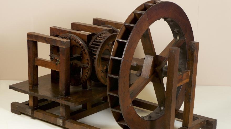 Imagen de Modelo de un ingenio de laminar y acuñar moneda de la Real Casa de Moneda de Segovia