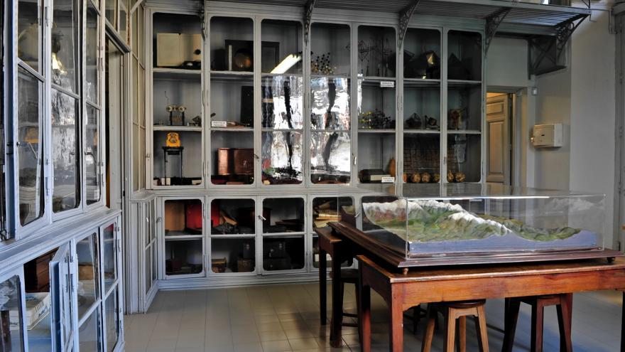 El Gabinete de Historia Natural primera sala