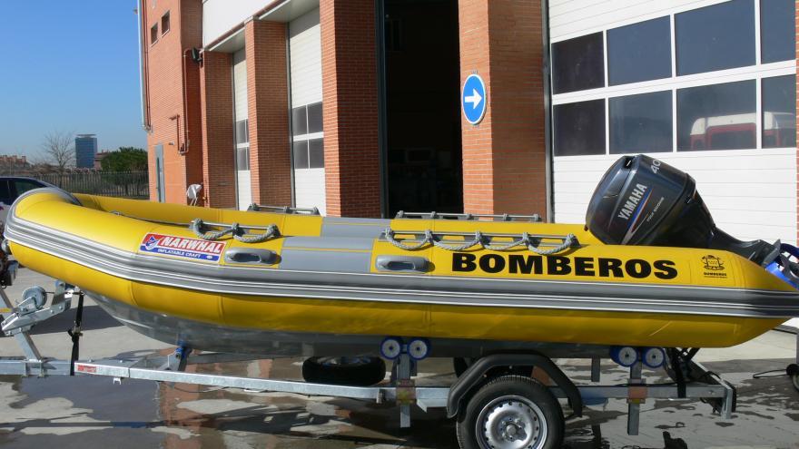Barca de salvamento acuático: 6 unidades