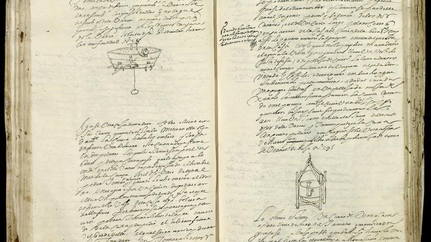 Imagen de Patente de Jerónimo de Ayanz