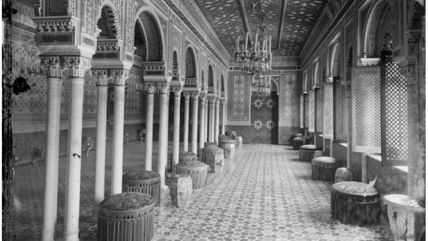 salon arabe 1860