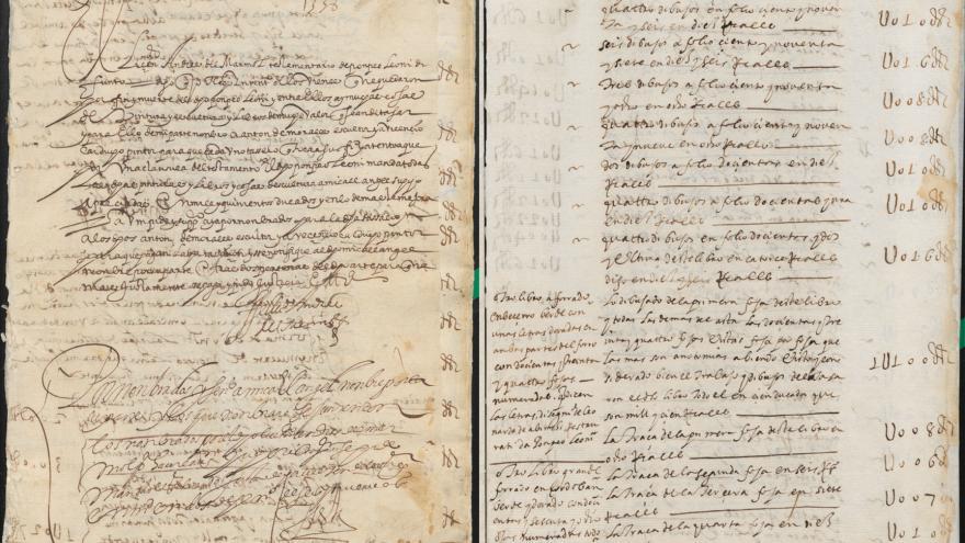 Imagen de Tasación de los bienes de Pompeo Leoni