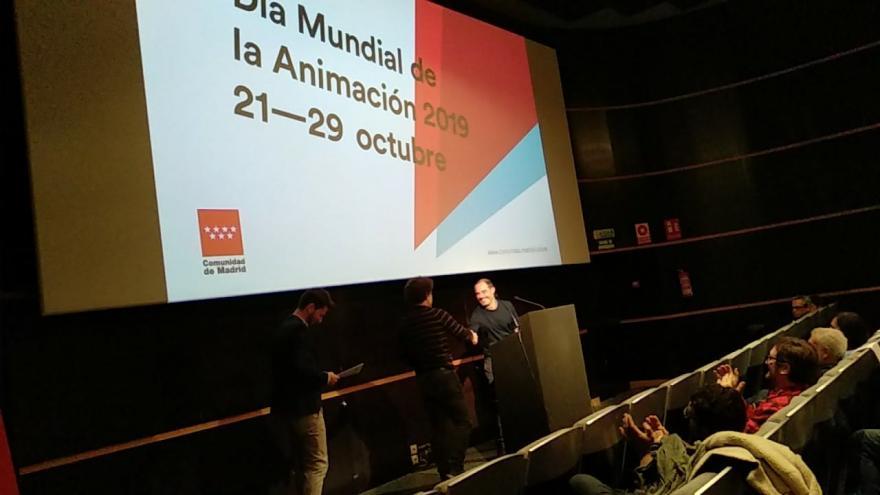 Imagen de la gala de premios de animación