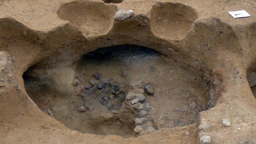 Imagen del yacimiento arqueológico de La Serna