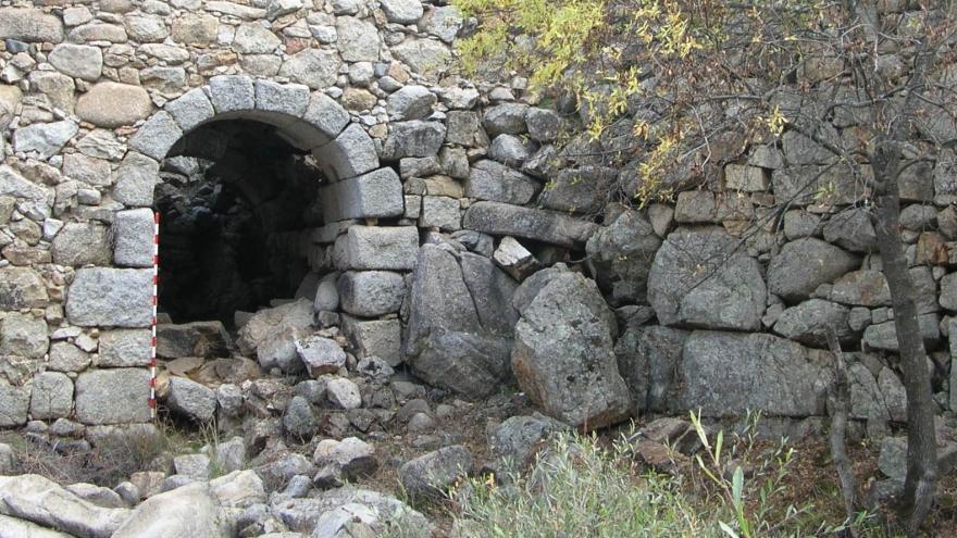 Imagen del conjunto de molinos y batanes de El Grajal