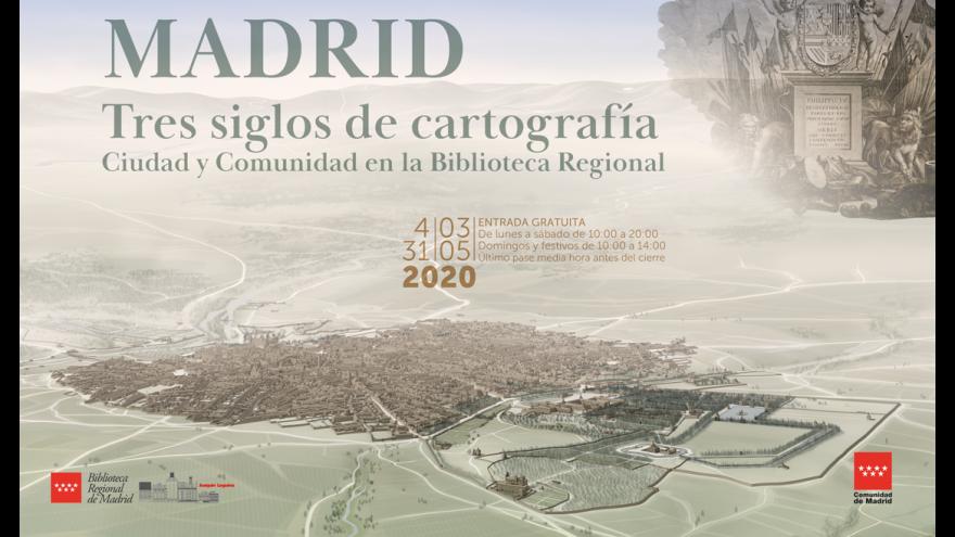 Madrid: Tres siglos de cartografía_