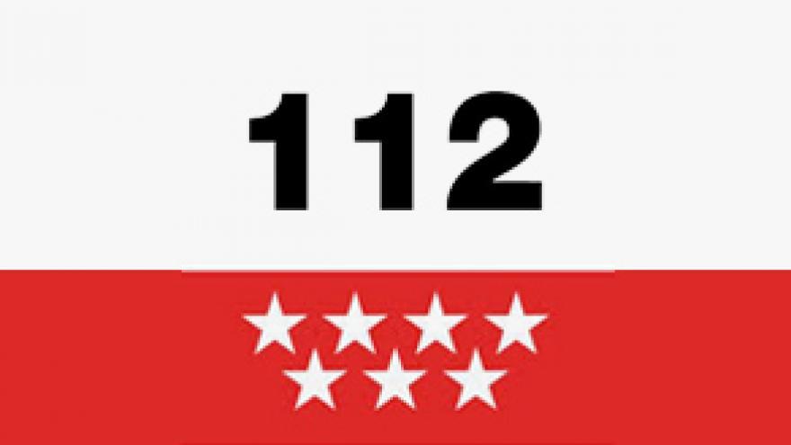 Imagen con teléfono de emergencia 112