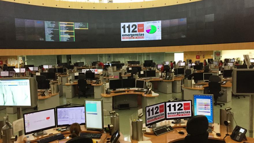 Sala de operaciones del Centro de Emergencias 112