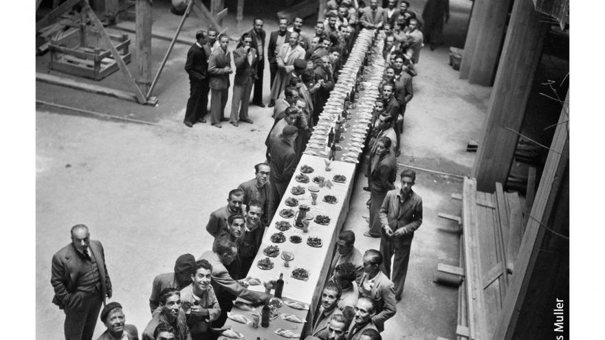 Comida de empresa Madrid 1950