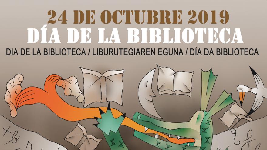 Día de la biblioteca 24 de cotubre