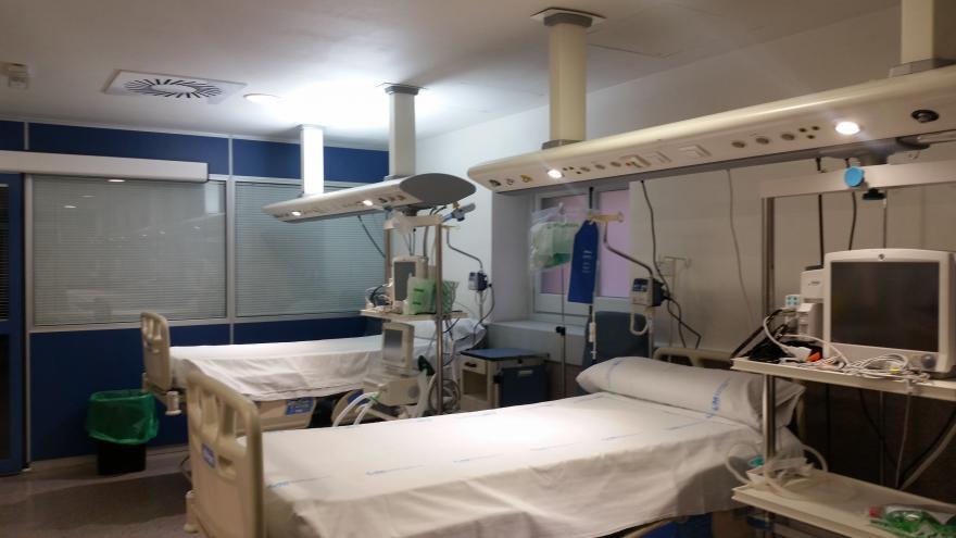 Unidad de Cuidados Críticos del Hospital Santa Cristina
