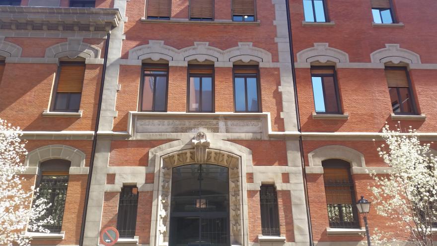 Fachada del Edificio de Hospitalización del Hospital Universitario Santa Cristina