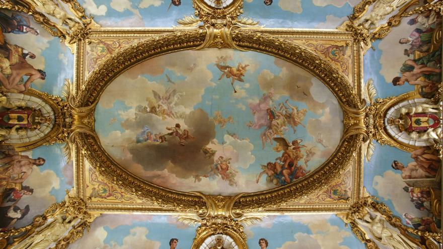 Palacio del duque de Santoña, techo