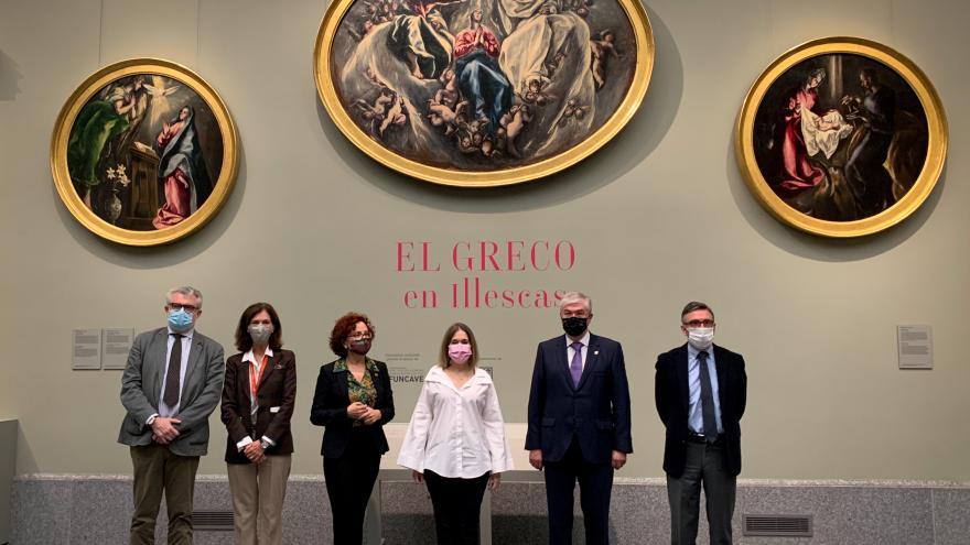 Presentación de la exposición 'El Greco en Illescas'