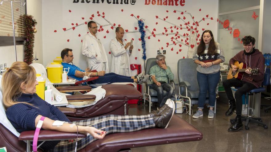 19 maraton de donación de sangre H Getafe