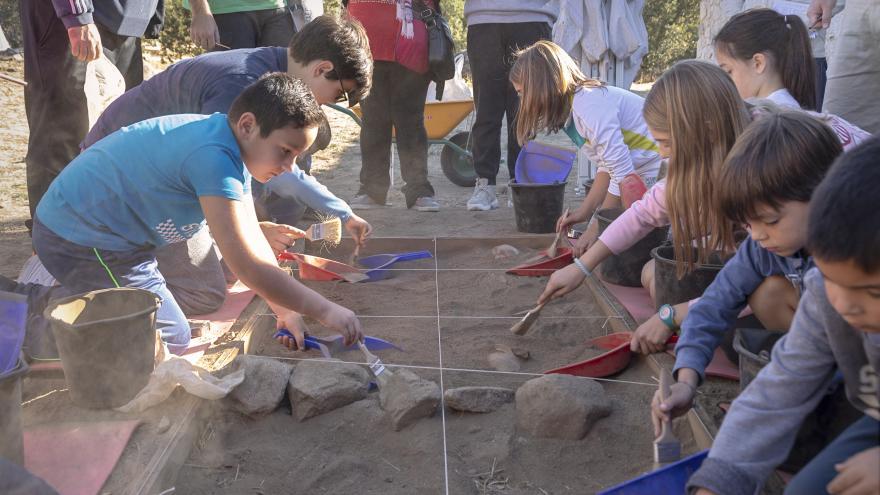 Arqueólogos por un día en La Cabilda Hoyo de Manzanares