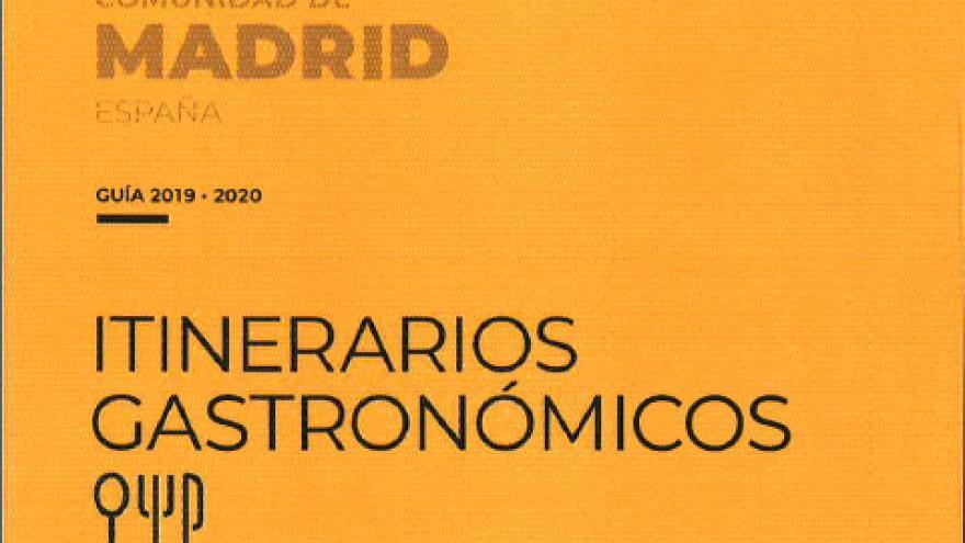 Imagen portada publicación Itinerarios gastronómicos