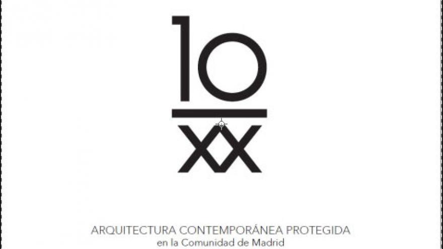 Fondo blanco con el título de la obra 10 y XX en números romanos