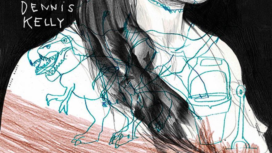 imagen del cartel del espectáculo Chicas y chicos en la que se ve a una mujer pintada