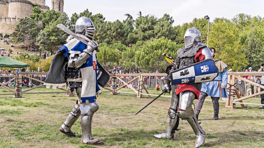 Combatientes con armadura