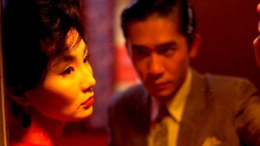 imagen de dos actores de la película Deseando amar