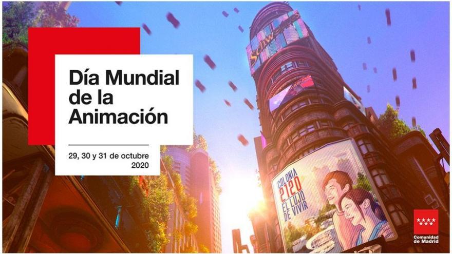 Imagen que anuncia el día mundial de la animación
