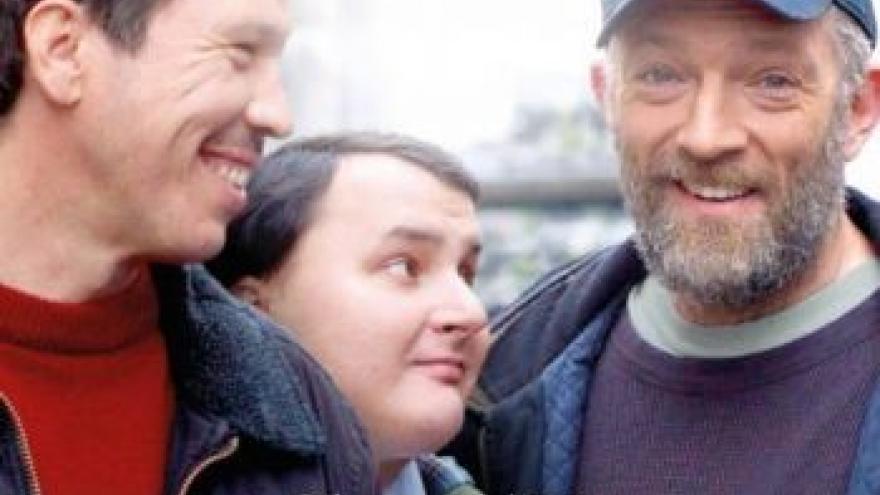 imagen de los tres protagonistas de Especiales