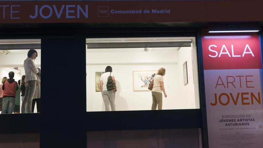 Exposición 26 muestra P. Asturias Sala Arte Joven. Foto Arantxa Boyero